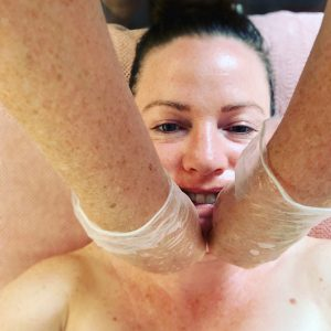 intra oral facial massage